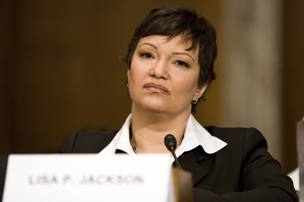 Lisa Jacskon testifies at her Senate confirmation hearing for EPA Administrator