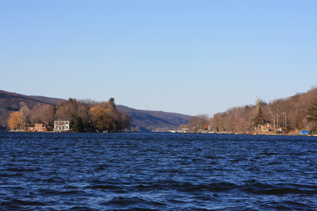 Greenwood Lake, NY/NJ border