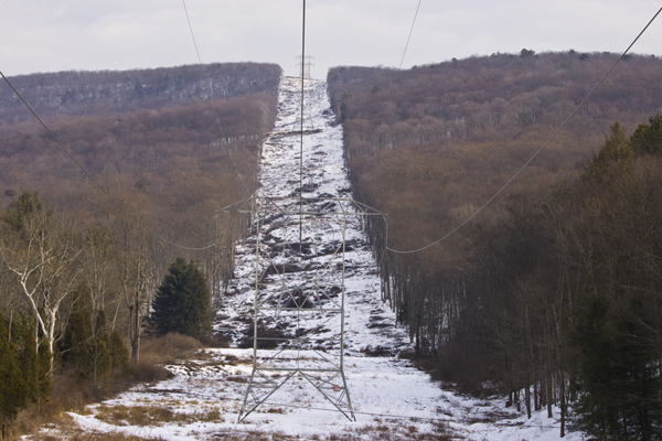 electric powerline cuts thrugh forest - how much is this easement worth?