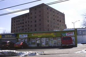 Paterson, NJ - liquor open - public housing closed