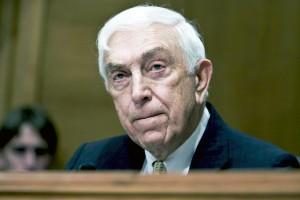 NJ US Senator Frank Lautenberg