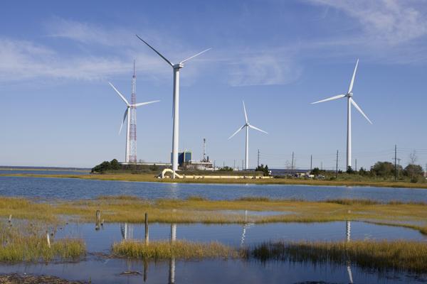 wind farm, Atlantic City, NJ