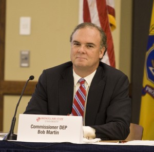 DEP Commisioner Bob Martin - at March 23 Red Tape Review Group hearing