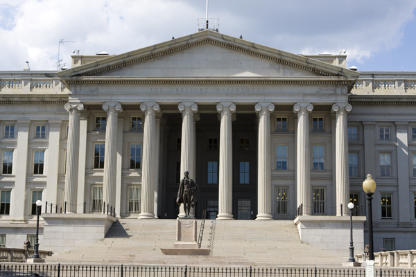 US Treasury Building, Washington DC