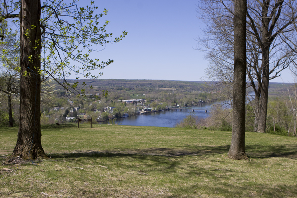 Goat Hill, Lambertville, NJ - Delaware overlook