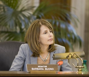 Senate Majority Leader Barbara Buono (D-Middlesex)