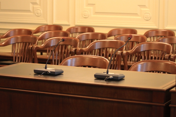 Where's Bob Martin? Hot seat becomes empty seat at Senate Environment Commmittee today.