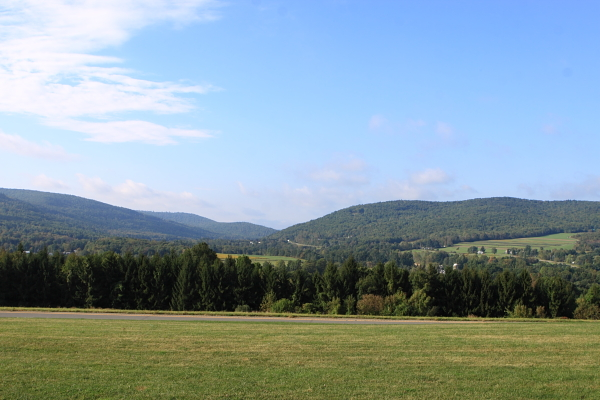 NY State's Southern Tier remains rural (underlain by Marcellus gas bearing shale)