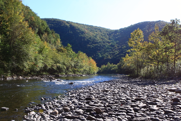 Lehigh River (at Jim Thorpe, Pa.) is threatened too