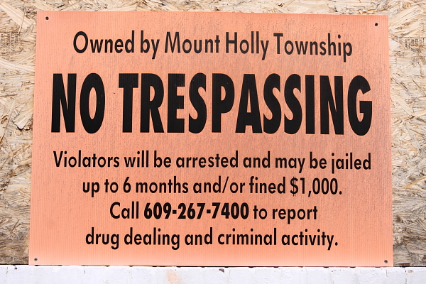 shame on Mt. Holly!