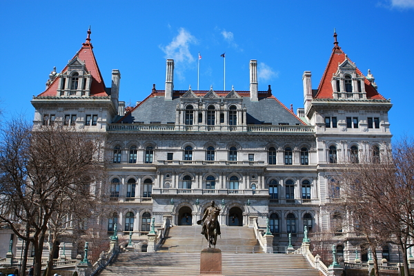 Capitol, Albany NY - Has the gas industry taken over the people's house?