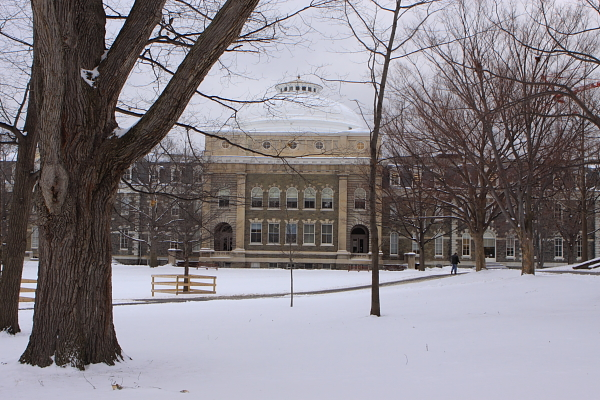 Sibley Hall, Cornell - regional planners and architects were housed under the dome when I was there (1983-1985).