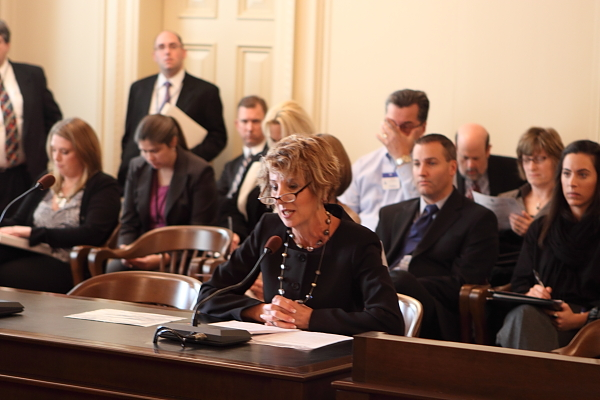 Assemblywoam Wagner (D-Bergen) testifies to Assembly Environment Committee (12/9/10)