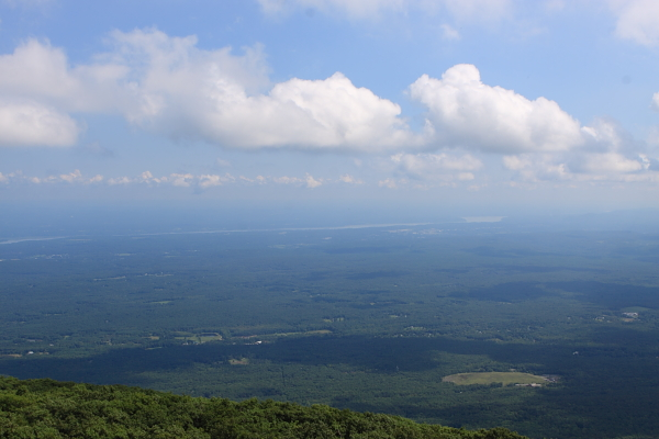 eastern view from Lookout Mountain