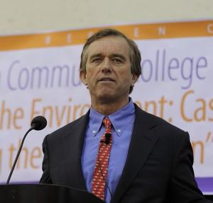 Robert F. Kennedy, Jr. delivers keynote at Bergen Community College