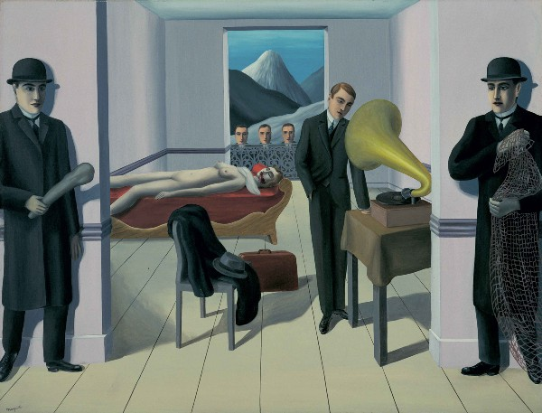 "Magritte ""The Menaced Assasin"" (1927)"
