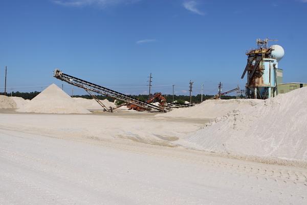 a Pinelands mining operation