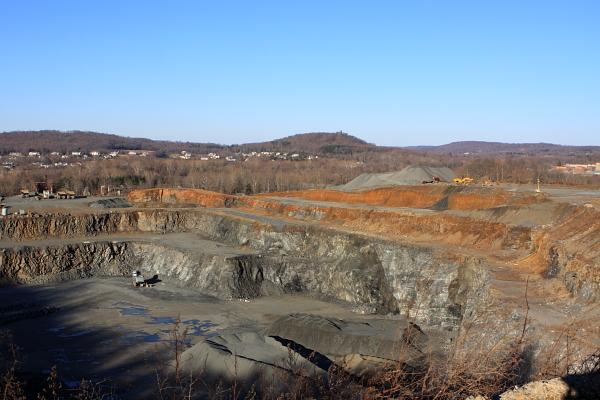 Traprock Mine - Hopewell, NJ (on Delaware River, off Rt 29)