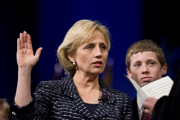 Lt. Governor Guadagno sworn in at Christie Inaugural