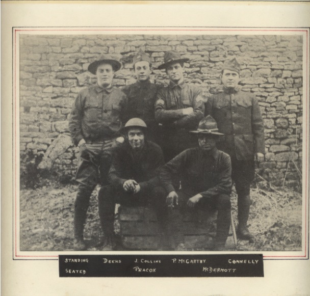 Grandfather Peacox (seated on left)