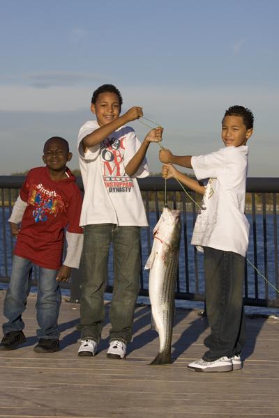 kids fish