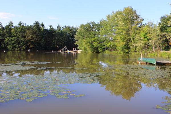 Lake Lookover - heavy sediment load