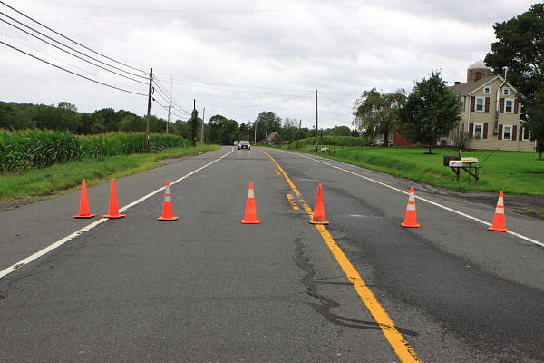 Rt. 179 closed by downed wires