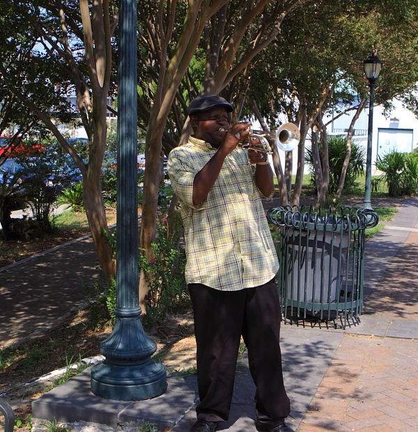 street music, New Orleans
