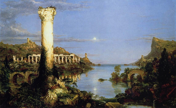 "Thomas Cole ""Desolation"" (1836)"