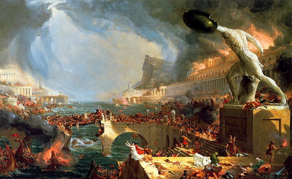 "Thomas Cole ""Destruction"" (1836)"