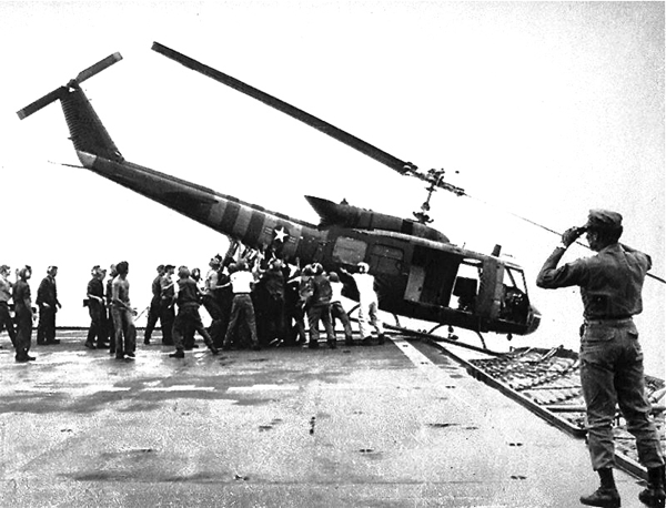 Vietnam, fall of Saigon, April 1975