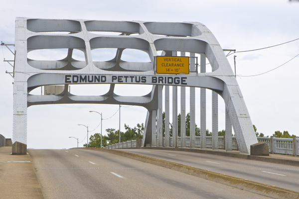 "Edmund Pettus Bridge - Selma, Alabama - scene of ""Bloody Sunday"""