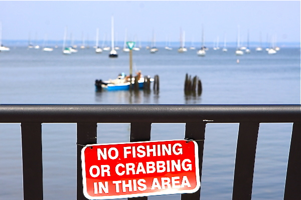Raritan Bay warning
