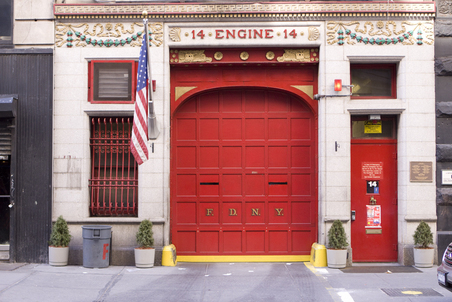 """Sweet 14″ Fire House at 14 East 18th Street, Manhattan NYC"