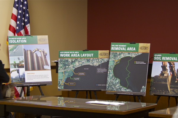 Dupont Cleanup Plan presented informally by EPA (October 20, 2011)