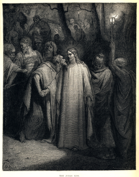 """The Judas Kiss"" (1866) by Gustave Doré."