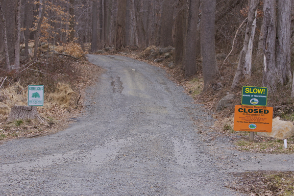 Baldpate Mountain - Park closed for hunting