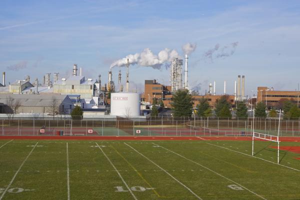 view from the bleachers - Paulsboro HS