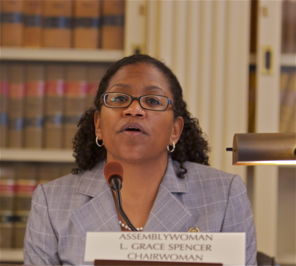 L. Grace Spencer, Chairwoman, Assembly Enviromnment and Solid Waste Committee