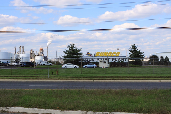 Sunoco Coastal Eagle refinery - West Deptford, NJ