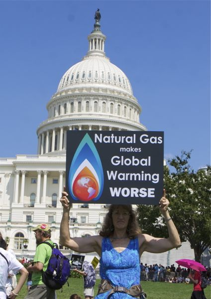 Few talk about the scientific studies that suggest that natural gas has a greenhouse gas warming potential possibly greater than coal.