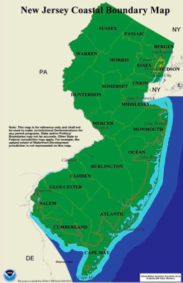 WolfeNotes.com » North and Central Jersey Inland Flood Risks ... on fema new flood elevation map, brigantine nj fema flood insurance map, flood insurance bedford ny map,