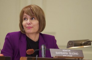Buono Defines Campaign as Battle With Christies Right Wing Ideology and National Political Ambitions