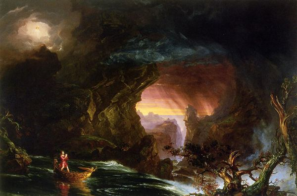 The Voyage of Life - Thomas Cole