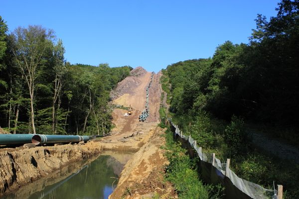 Tennessee Gas Pipeline Construction (Wawayanda State Park, West Milford NJ) (8/18/11)