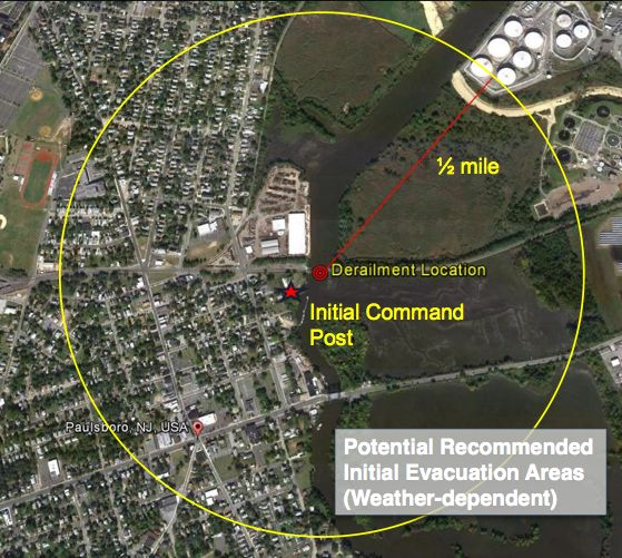 Evacuation in Paulsboro violated federal Guidelines Source: NTSB