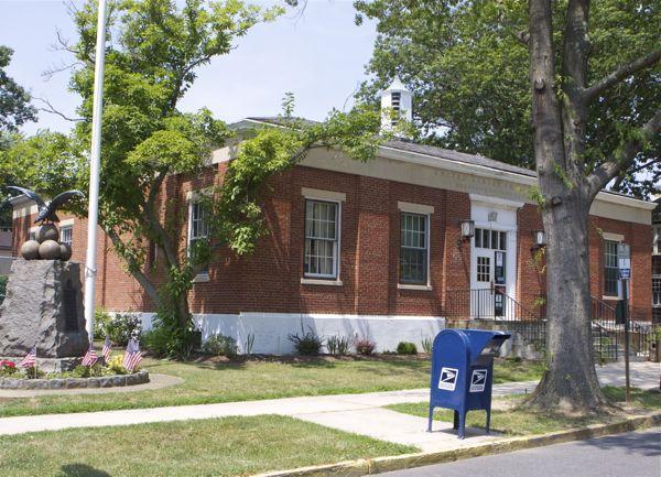 Bordentown NJ Post Office - built during New Deal