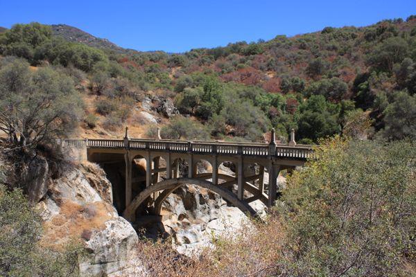 Kaweah River Bridge - Mineral King Valley