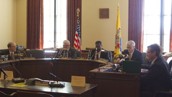 Joint Ethical Committee on Ethical Standards - Chaired by John E. Wallace, a former NJ Supreme Court Justice not re-appointed by Gov. Christie