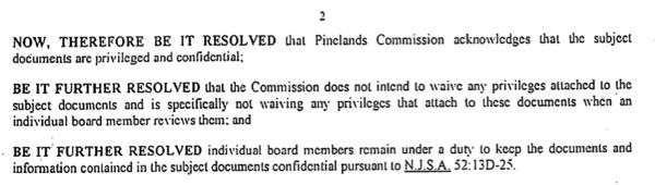 Source: Pinelands Commission Resolution  No. PC 15-02 (1/30/15)